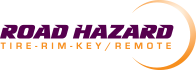 Road Hazard Tire, Rim and Key/Remote logo